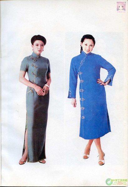 5年老书 流行旗袍裁剪 清晰大图,完全版